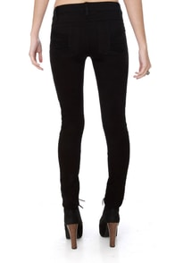 Tripp NYC Z-Cut Black Jeans at Lulus.com!