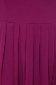Fleeting Glance Magenta Dress at Lulus.com!
