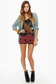 Volcom Machu Peaches Knit Hot Pants
