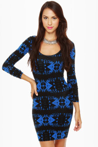 Volcom Walk it Out Print Dress