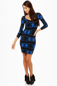Volcom Walk it Out Print Dress at Lulus.com!