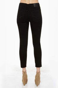 Volcom What the Twill Black Skinny Jeans