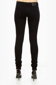Volcom Pistol Black Jeggings at Lulus.com!