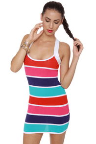 Block-apella Color Block Dress at Lulus.com!
