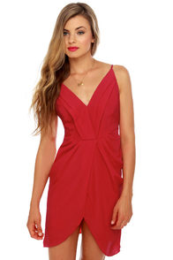 Midnight Soiree Red Dress at Lulus.com!