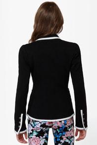 Jackie Oh Yeah Knit Black Blazer at Lulus.com!