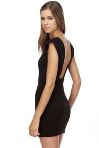 Space Odyssey Black Dress