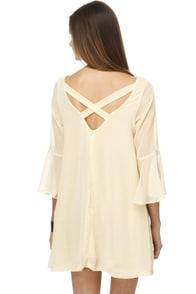 Shortbread Baby Ivory Dress