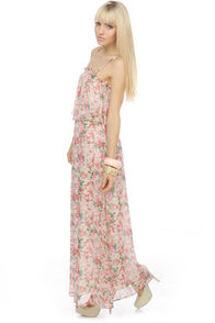 Collective Concepts Salzburg Festival Floral Maxi Dress