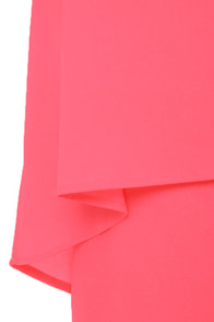 Easy Street Neon Pink Dress at Lulus.com!