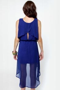 Tier-ing Up Royal Blue Dress at Lulus.com!