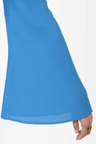 Polyphonic Spree Backless Blue Dress at Lulus.com!