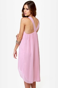 Bead You Now Beaded Blush Pink Dress at Lulus.com!