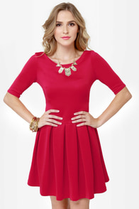 LULUS Exclusive Sweet Thing Red Dress at Lulus.com!