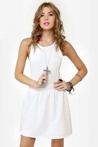 Skater Dee Ivory Dress