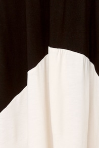 Suitcase Staple High-Low Black Dress