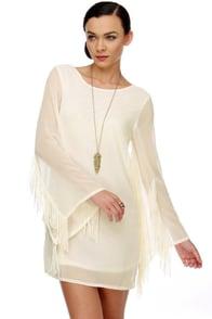 Angel on My Shoulder Ivory Dress