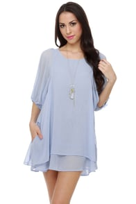 Lucy Love Gabriella Light Blue Dress