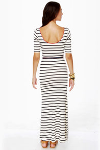 Tall Tales Striped Maxi Dress at Lulus.com!