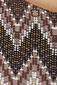 Mosaic Maker One Shoulder Romper