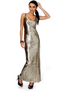 Rubber Ducky Tender Mirage Sequin Mermaid Dress