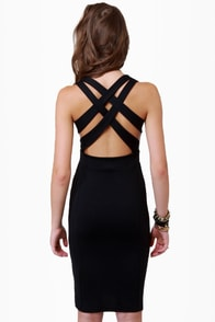 Wear-withal Black Dress at Lulus.com!