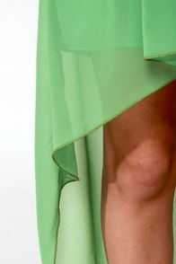LULUS Exclusive Get My Drift Black and Green Dress at Lulus.com!