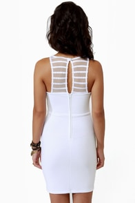 LULUS Exclusive V-easy Does It White Dress at Lulus.com!