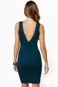 LULUS Exclusive True Calling Deep Blue Dress at Lulus.com!