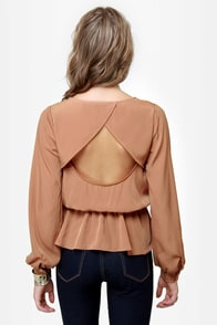 Office Party Blush Top