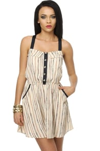 Boothbay Harbor Striped Dress