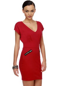 Zip Code Red Dress