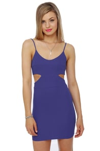 Fair to Middlin' Periwinkle Blue Dress