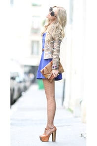 Follow Me Sleeveless Royal Blue Dress at Lulus.com!