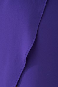Tulip Season High-Low Purple Skirt at Lulus.com!