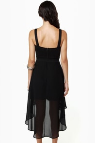 For Keeps Black Dress at Lulus.com!