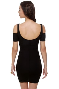Mystery Woman Black Dress at Lulus.com!
