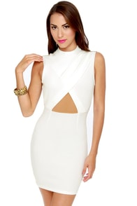 Starlet Wars White Halter Dress
