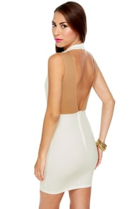Starlet Wars White Halter Dress at Lulus.com!