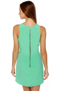 Yogurt Pop Mint Green Dress at Lulus.com!
