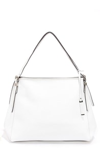 Clean Chic White Handbag at Lulus.com!