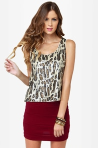 It's Electrifying Wine Red Mini Skirt at Lulus.com!