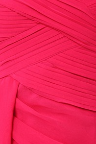 Midnight Masquerade Strapless Fuchsia Pink Dress at Lulus.com!