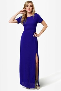 Don\\\\\\\\\\\\\\\'t Call It a Comeback Blue Maxi Dress