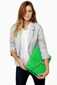 I'm the New Intern Grey Tweed Blazer at Lulus.com!