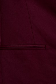 BB Dakota Zane Burgundy Blazer
