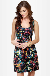 BB Dakota by Jack Aline Print Dress at Lulus.com!