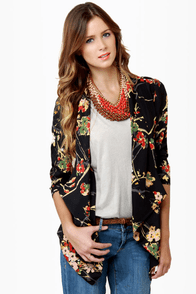 Darling Arabella Floral Print Top