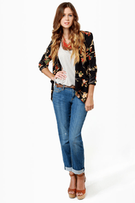 Darling Arabella Floral Print Top at Lulus.com!