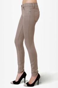 Level 99 Janice Ultra Skinny Grey Jeggings